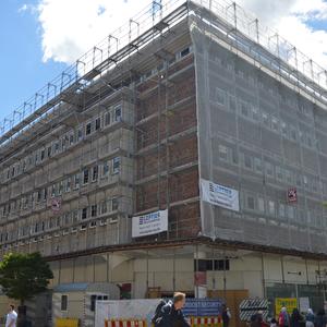 Umbau des alten Karstadt-Gebäudes zu einem Hotel [2017/18] -