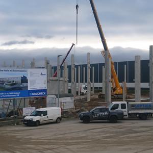 Neubau einer Halle mit Büromezzanine - [2019/2020]