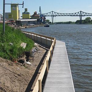 Ufersicherung Nord-Ostsee-Kanal Rendsburg -