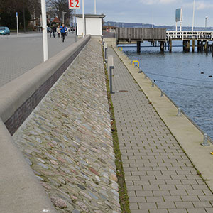 Uferbefestigung - Hindenburgufer