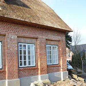 Wiederaufbau historischer Meierhof -