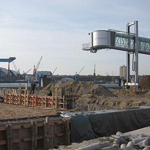 Instandsetzung der Ostseekaispundwand Seehafen Kiel -