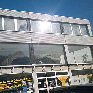 Fassadensanierung Autohaus Lensch Neumünster -