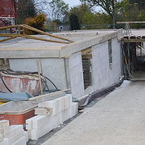 Neubau eines wasserundurchlässigen Kellers -